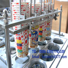 Pneumatic Fill And Seal Machine Popcorn Filling Paper Cup Sealing Machine Popular Papercup Popcorn Filling Sealing Machine