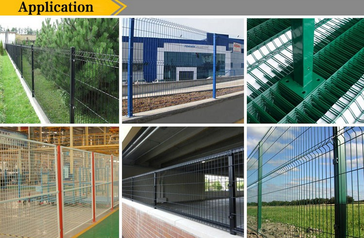 highway road wire mesh fence panel  welded wire mesh
