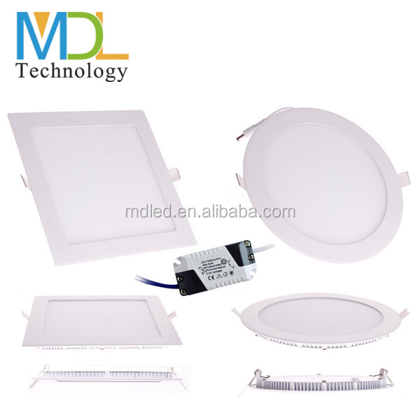 Professional OEM/ODM slim led panel light 18W, small Round&Square led light panel with CE& Rohs,