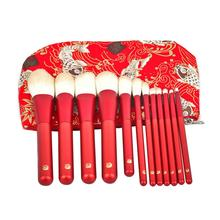 Neue Produkte Lange <span class=keywords><strong>griff</strong></span> make-up pinsel set, Cosmetics12 pcs MakeupBrushSet, Hohe Qualität Individuelles Logo Make-Up Großhandel Pinsel Set