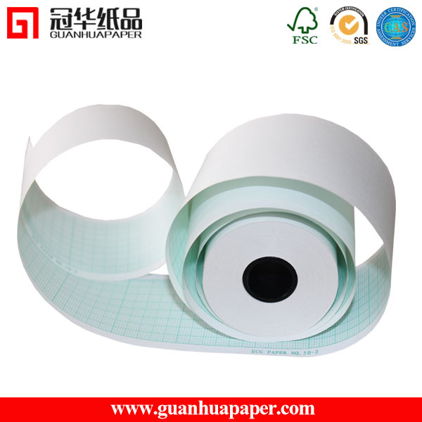 Advanced Quality 110mm*20m 6channel thermal ECG paper