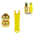 Factory custom 3d animal silicone nail clipper holder silicone nail cutter cover