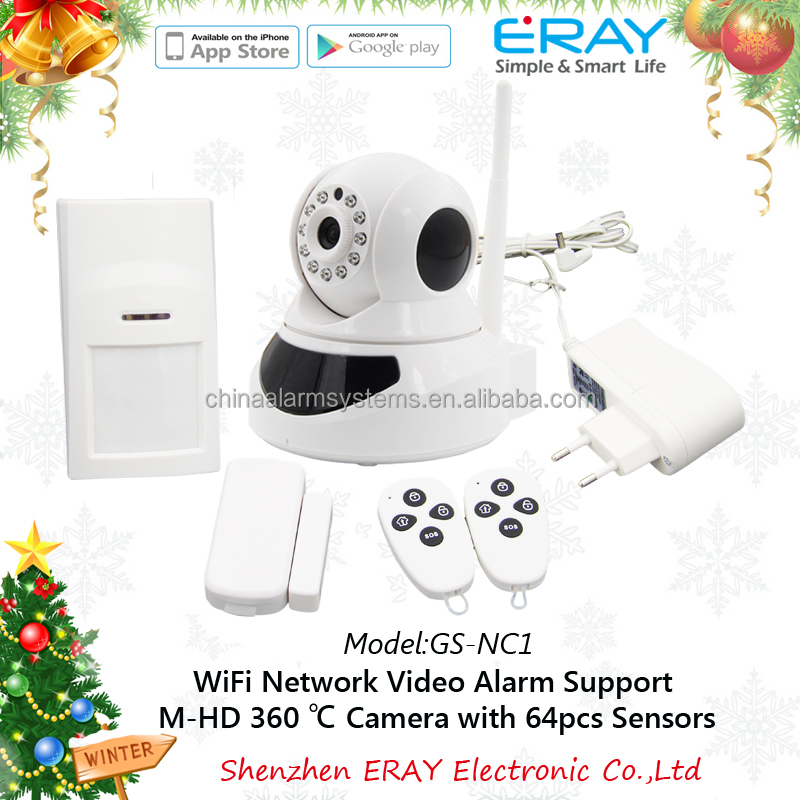 WIFI alarm IP camera ptz camera Pan/tilt