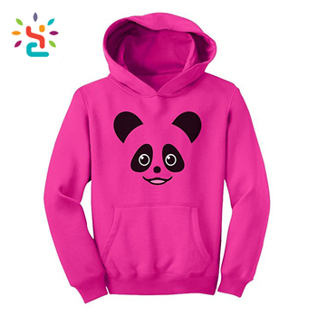 Spandex Cotton tops for women clothing kids cute animal hoodies print plain  hoody for children and d923df71d6