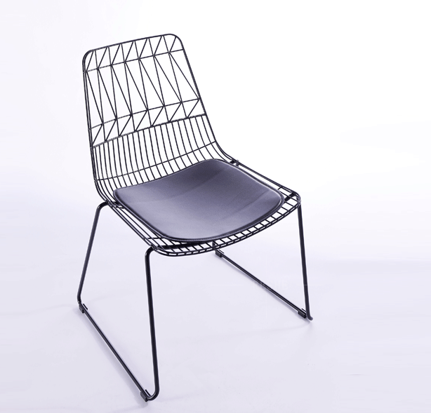 Charmant Wire Mesh Metal Iron Dining Chair Gold Wire Metal Dining Chair   Buy Metal  Folding Chairs,Vintage Metal Chairs,Concrete Wire Mesh Chairs Product On ...
