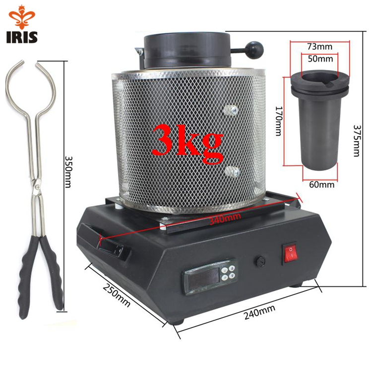 small portable induction gold melting furnace for sale