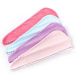 """super absorbent hair turban towel 100% cotton with low price"
