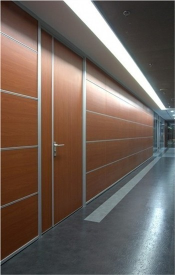 Modern Office Partition Soundproofing Solid Mdf Melamine