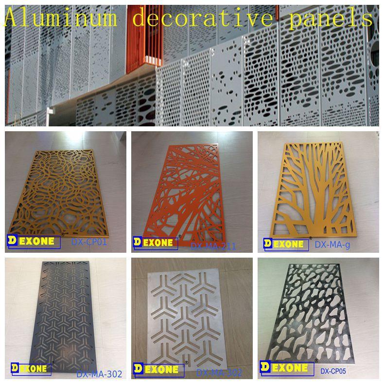cnc custom stylish metal laser cut carve panels as outdoor decorative wall