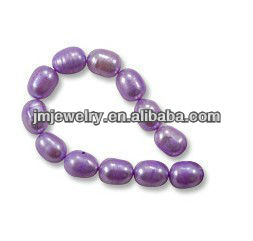 Irregular shaped for freshwater pearl jewelry bead in bulk