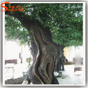 Large indoor artificial banyan tree trunk for decoration