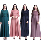 Moroccan Kaftan Dresses Muslim Dress Turkish Islamic Clothing Wholesale In China Dubai Islamic Clothes DL2823