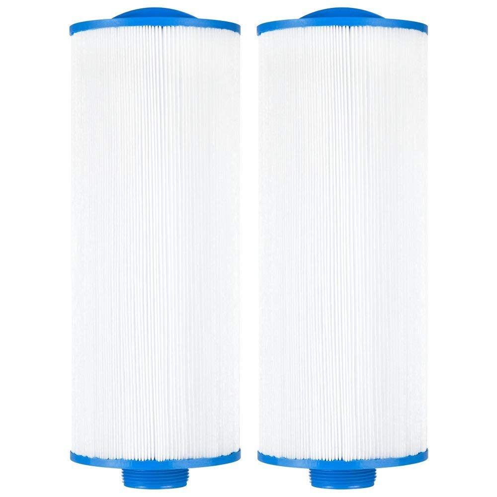 """Clear Choice CCP340 Pool Spa Replacement Cartridge Filter for Advanced, LA Spa, Top Load Filter Media, 4-5/8"""" Dia x 11-7/8"""" Long, [2-Pack]"""