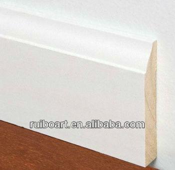 White Primed Finger Joint Pfj Colonial Baseboard Buy