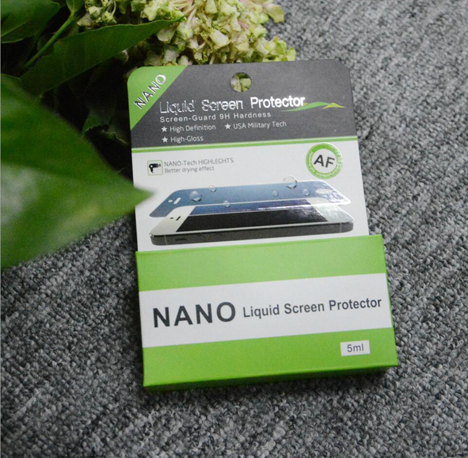 OEM logo 5ml Nano Liquid Screen Protector for all mobiles iphones