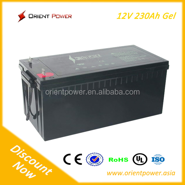 Deep cycle battery 12V 18Ah solar storage battery