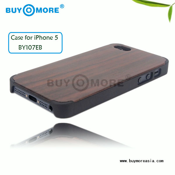 boost stylish wooden mobile phone cases wholesale wood case price for IPhone 5S