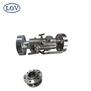 Super Quality Stainless Steel Double Ball valve with Fire Proof Design