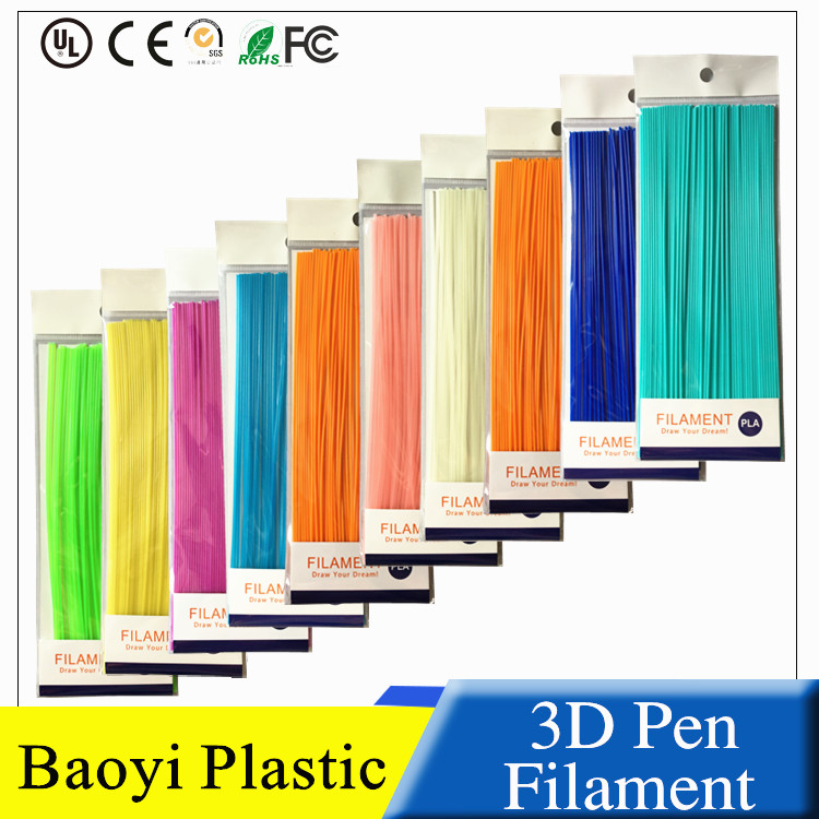 Straight ABS PLA 3D Pen Filament Pack