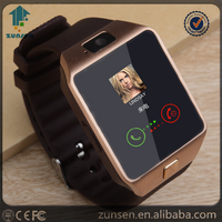 "2016 Smart Watch DZ09 Waterproof 1.54"" Touch Screen Nfc Slim Card DZ 09 Smart Watch Phone"