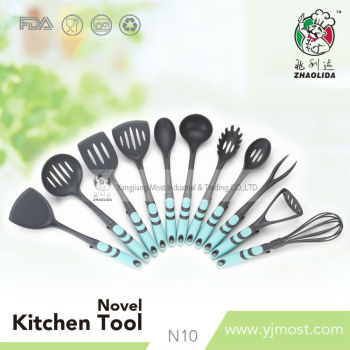 designer kitchen utensils fashion design kitchen tools with colorful plastic 3271