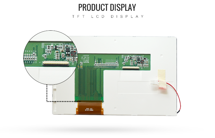 7.0'' colorful TFT LCD