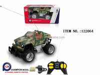 New inventions durable children 1:24 rc toy car with battery