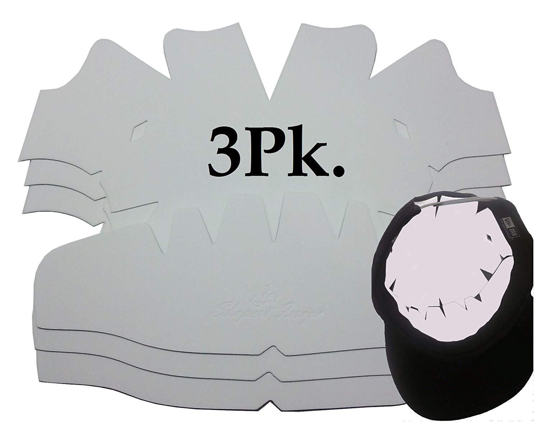 9570a6ddca6 Get Quotations · 3Pk. Baseball Cap Dome Panel Shaper
