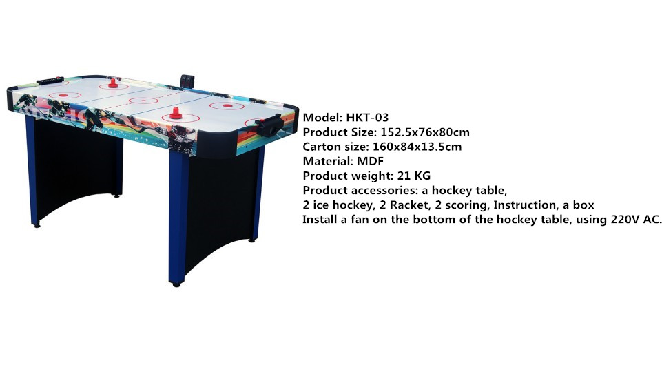 Electric Folding Air Hockey Game Table