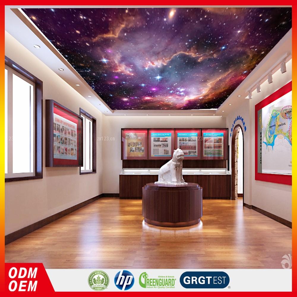 Ceiling Wallpaper Sky 3d Ceiling Wallpaper Nurals Star Design