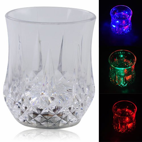 Magic Inductive Color Changing LED Flash Light Cup