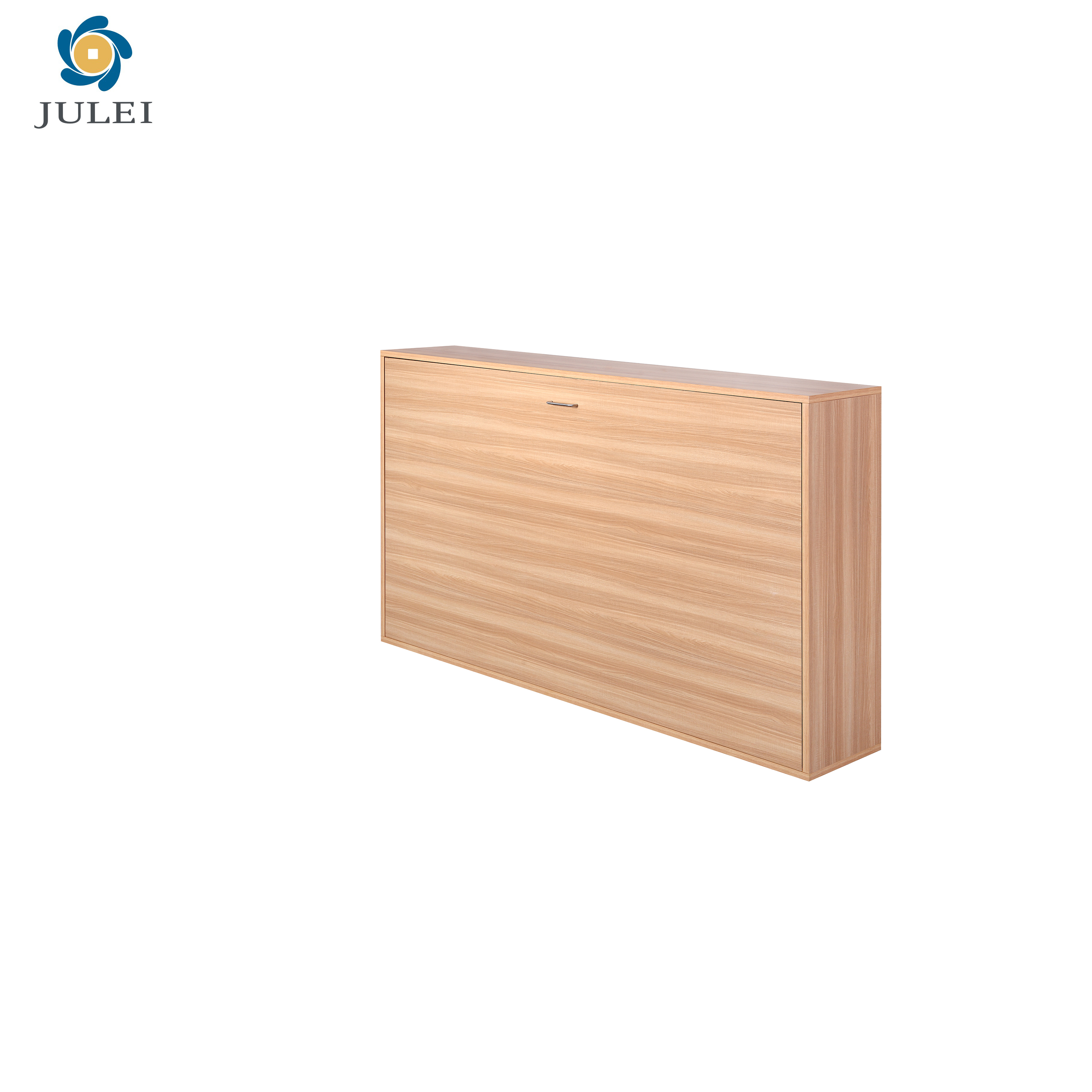 Horizontal Open Queen Folding Wall Mounted  Murphy bed Suitable for Department
