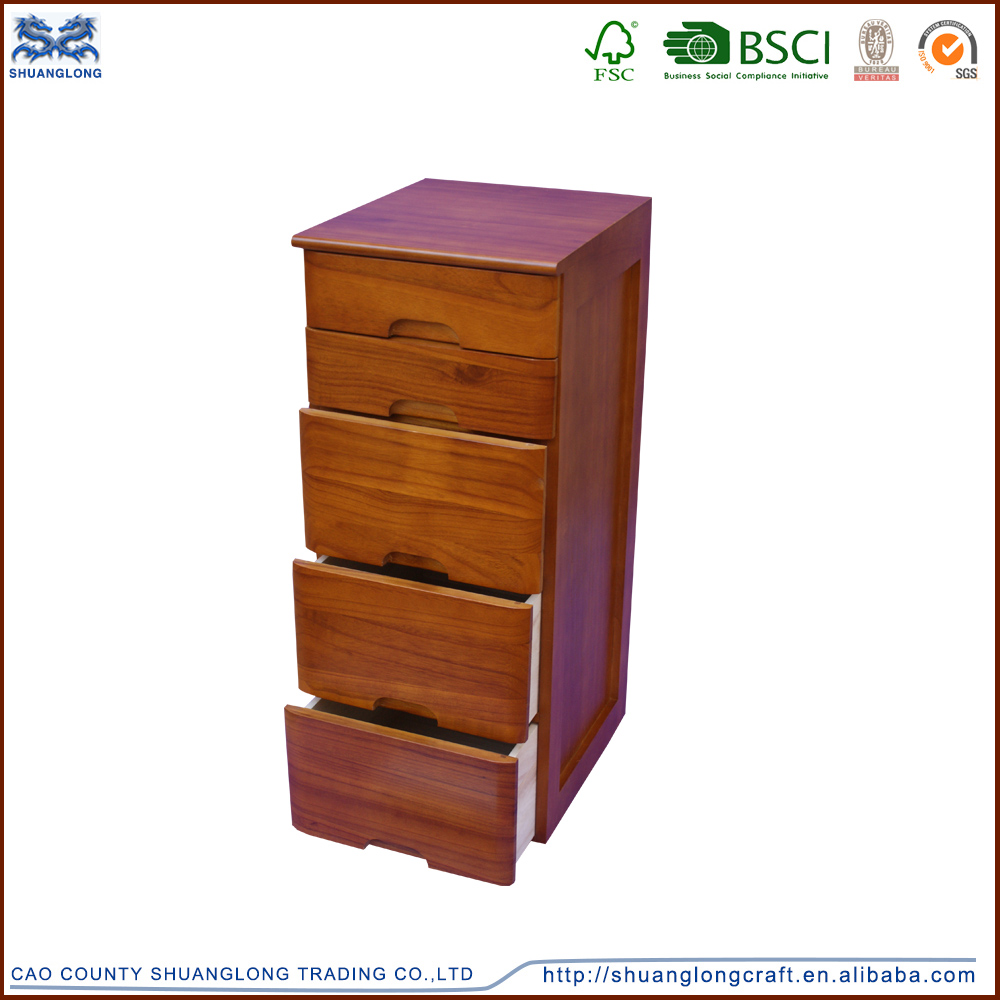 High quality wooden miniature furniture with drawers , wooden furnirure for living room decoration