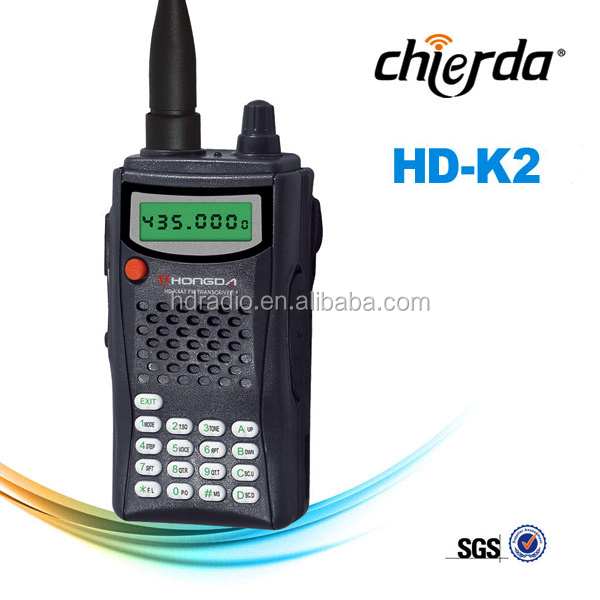 Long distance walkie talkies with English Chinese language