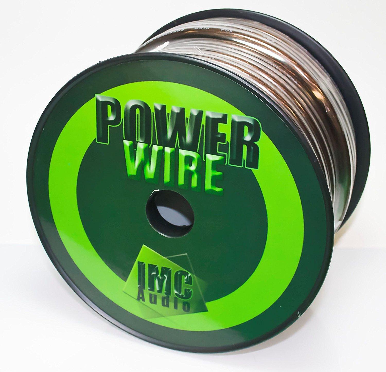 200 Ft - 8 Gauge Power Wire Black GA Guage Ground AWG 200 Feet