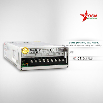 400W 24V AC DC Switch Power Supply With CE ROHS Approved