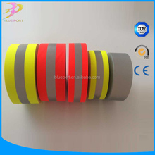 China Supplier Reflective Stretch Fabric Sun Reflective Material Tape