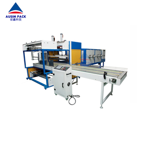 High quality grade automatic sleeve small bottle shrink wrapping wrap machine with best price
