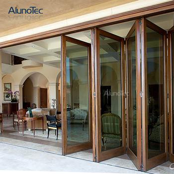 Aluminum Patio Folding Gl Door Closet