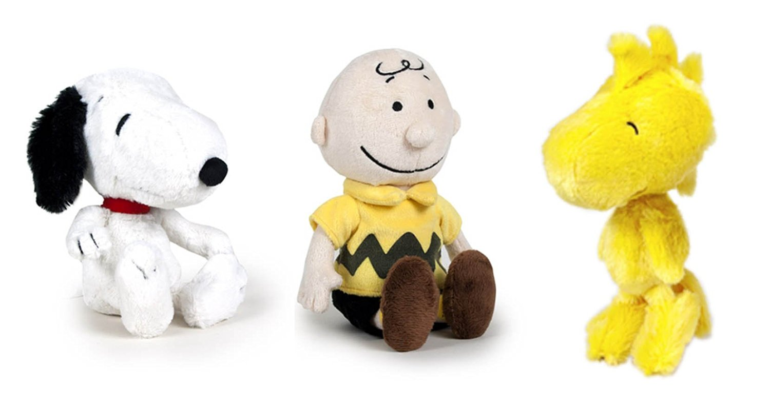Buy Peanuts Set Of 3 Characters Plush Toys Snoopy 9 25cm