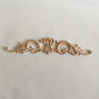 Decorative Antique Furniture Wood Appliques Onlays For Decoration