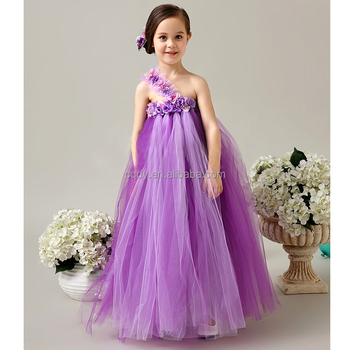 aac7c08f2a 2015 New Summer Indian Flower Girl Fluffy Tulle Dress,Kids Long Chiffon  Ball Gown Tutu Dress For Birthday Party Wear - Buy High Quality Full-length  ...