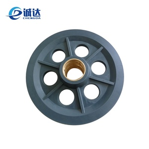 Use for freight elevator nylon crane pulleys rollers wheel for sale