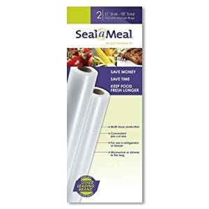 Seal-A-Meal 11-Inch by 9-Foot Rolls, 2pk, New by Seal-a-Meal