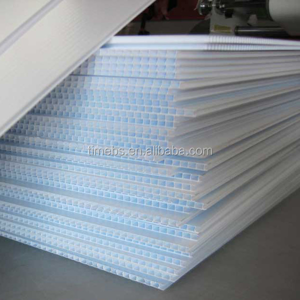 White 4mm Pp Corrugated Plastic Cardboard Sheets Buy Pp