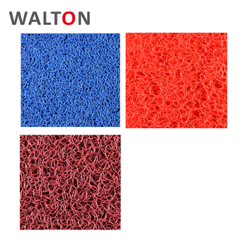 Anti Slip Durable Pvc Coil Rugs Carpets Floor Sculptured And