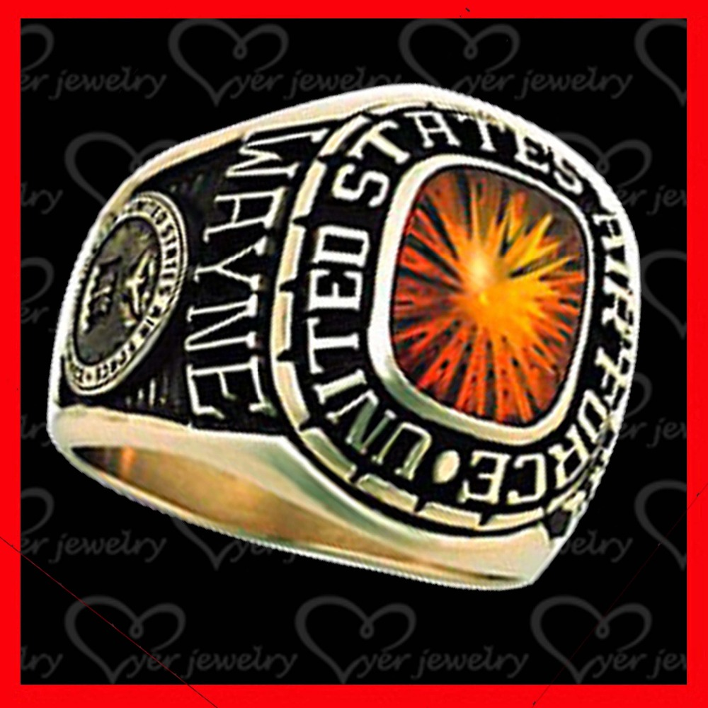 category police product rings military rose or gold
