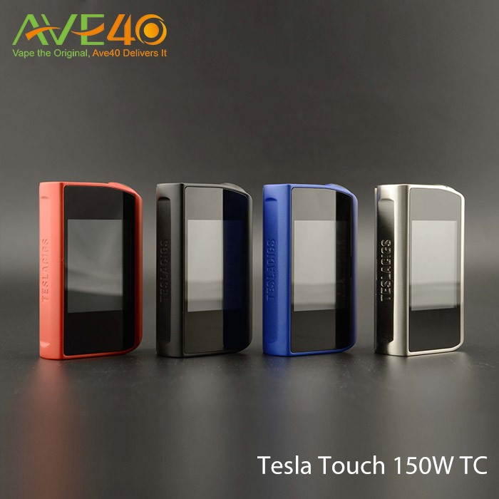 Tesla Touch 150W TC Box Mod from Ave40
