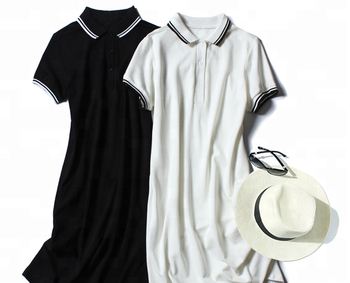 88c864eb9ae Wholesale New Summer Women Sport Dress Slim Ladies Fashion Casual Dress  Korean Style Student Long Polo