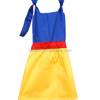 New Design Girls Apron Cute Snow White Princess Apron For Lovely ...